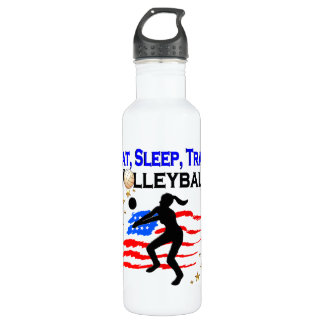 LIVING MY VOLLEYBALL DREAM DESIGN 710 ML WATER BOTTLE