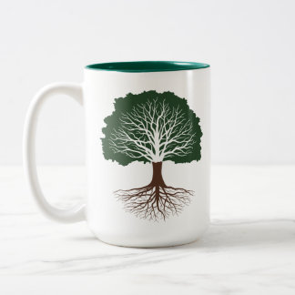 Living Oak Two-Tone Coffee Mug