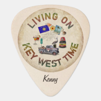 Living on Key West Time Plectrum