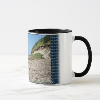 living on the edge... mug
