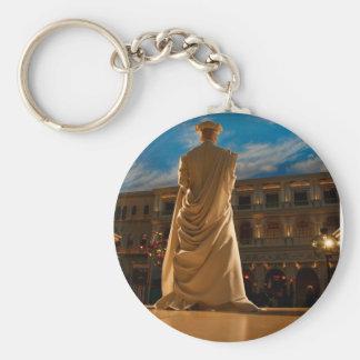 Living Statue Key Ring