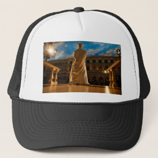 Living Statue Trucker Hat