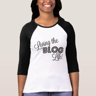 Living the Blog Life!  Blogger Shirt