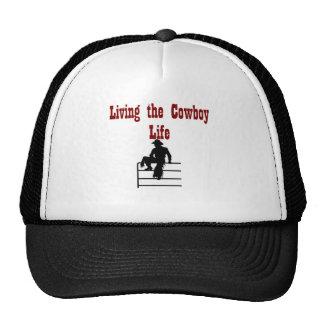Living the Cowboy Life Cap