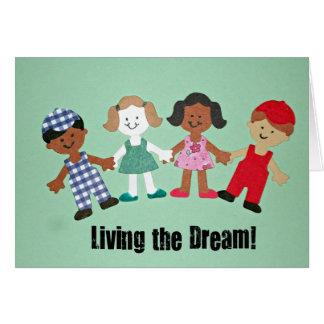 Living the Dream! Card