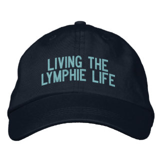 Living the Lymphie Life Baseball Cap