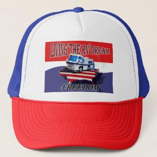 Living the RV Dream Freedom  Baseball hat