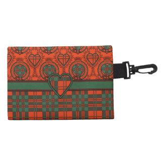 Livingston clan Plaid Scottish tartan Accessory Bag