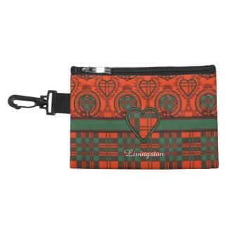 Livingston clan Plaid Scottish tartan Accessories Bags