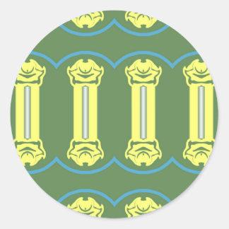 Livingstone Classic Round Sticker