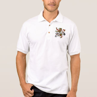 Livingstone Tartan Lion Polo Shirt