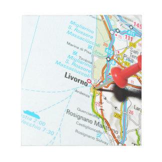 Livorno, Italy Notepad