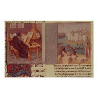 Livy  Writing and the Foundation of Rome Poster