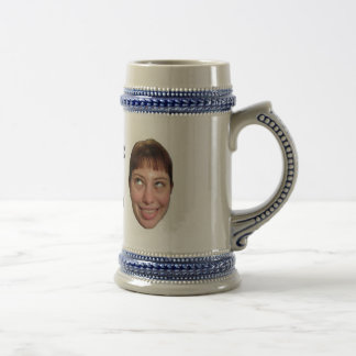 Liz and Laura Beer Stein Coffee Mug
