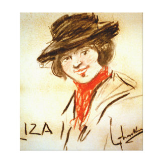 Liza Doolittle 1913 Gallery Wrapped Canvas