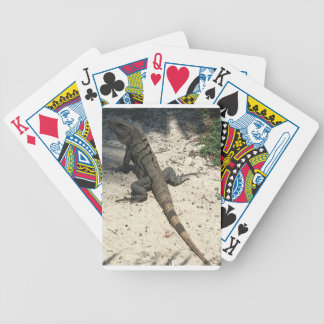 LIZARD BICYCLE PLAYING CARDS