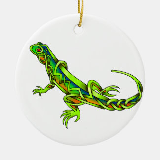 Lizard Ceramic Ornament