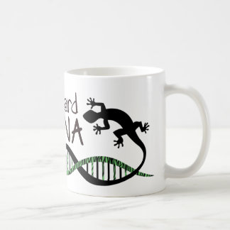 Lizard DNA coffee mug