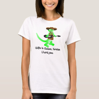 lizard joes Chillin in Chelem, Yucatan T-Shirt