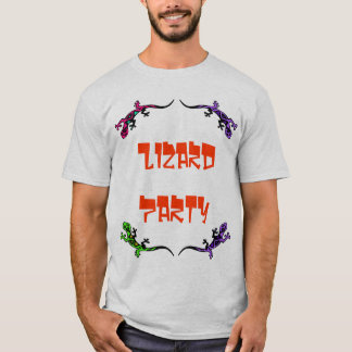 Lizard Party T-Shirt