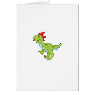 lizard rex dinosaur card