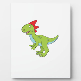 lizard rex dinosaur photo plaque