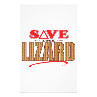 Lizard Save Stationery Paper