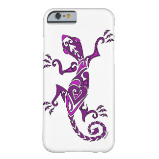 Lizard tattoo/henna in purple barely there iPhone 6 case