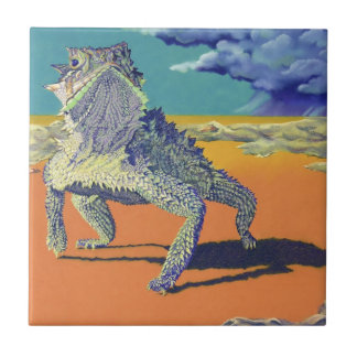 Lizard - Texas Horny Toad Tile