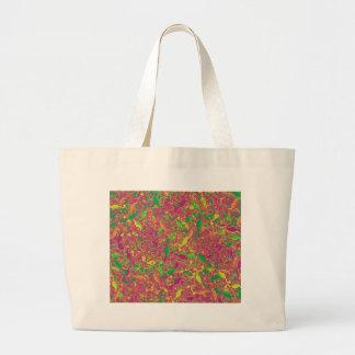 Lizards artistic pattern 3 large tote bag