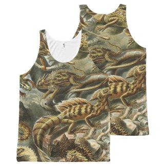 lizards ver 1 All-Over print singlet