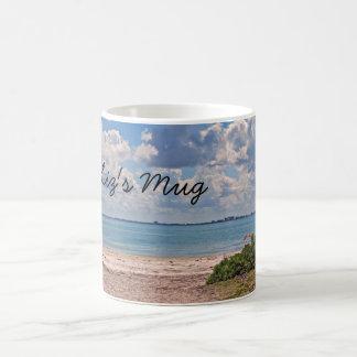Liz's Mug  beach scene