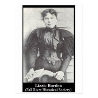 lizzie borden postcard