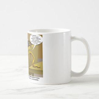 Lizzie Borden Trial Funny Cartoon Gifts Basic White Mug