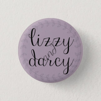 Lizzy & Darcy pin for Jane Austen fans.