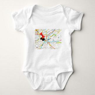 Ljubljana, Slovenia Baby Bodysuit