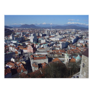 Ljubljana Slovenia Poster