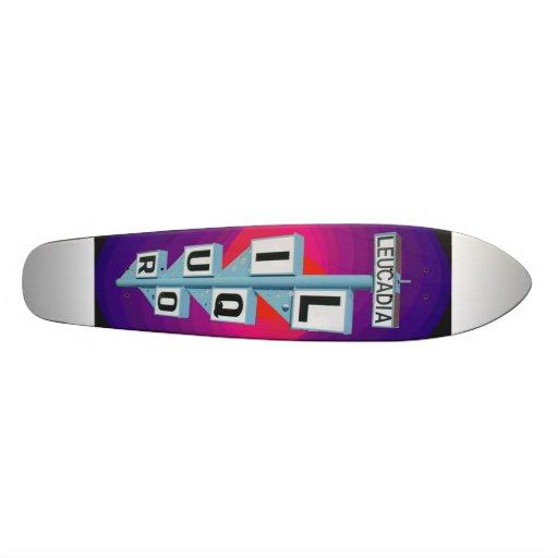 LL SIGN ZAZZLE blk Skate Decks