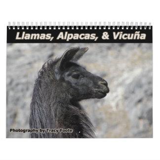 Llama Calendar 2018 - Bolivia Llamas