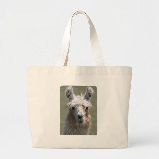 Llama Canvas Bag