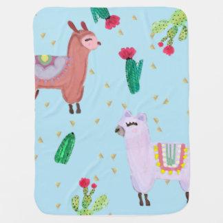 Llama Drama Blankie Baby Blanket