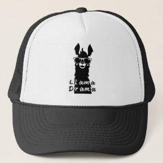 Llama Drama Trucker Hat