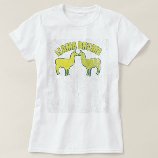 Llama Drama Vintage T-Shirt