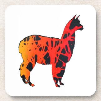 Llama Expressions Coaster