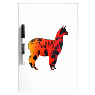 Llama Expressions Dry Erase Board