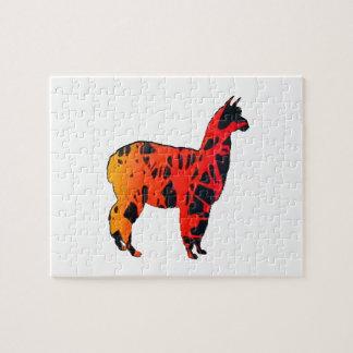 Llama Expressions Jigsaw Puzzle