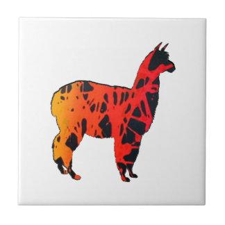 Llama Expressions Tile