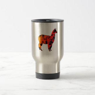 Llama Expressions Travel Mug