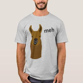 Llama Funny Face T-Shirt