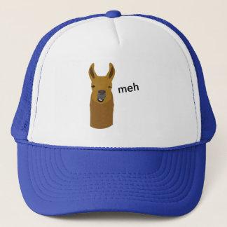 Llama Funny Face Trucker Hat
